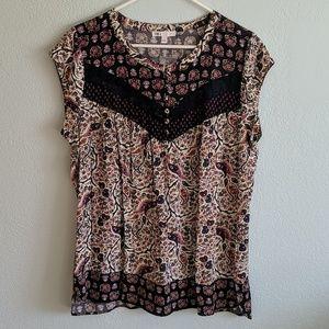 DR2 multi colored blouse